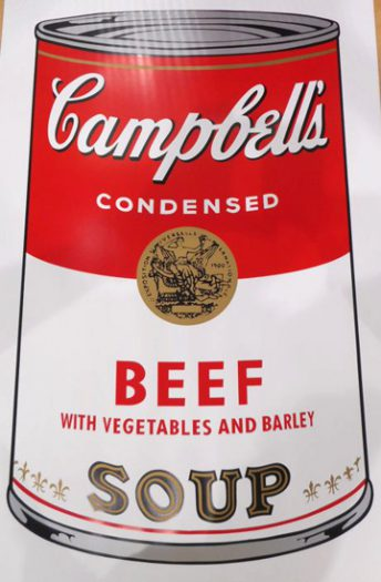 Warhol Andy, Camppbell´s Soup, Beef