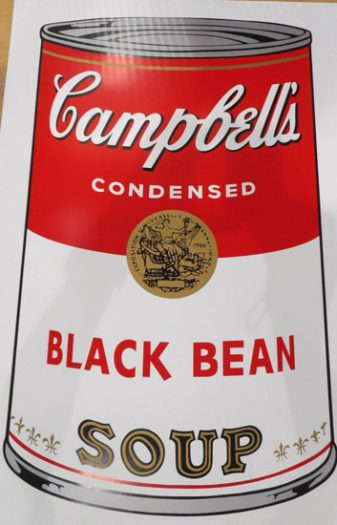 Warhol Andy, Camppbell´s Soup, Black Bean