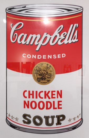 Warhol Andy, Camppbell´s Soup, Chicker Noodle