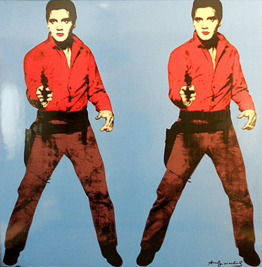 Warhol Andy, Elvis Blue, Edition Rosenthal