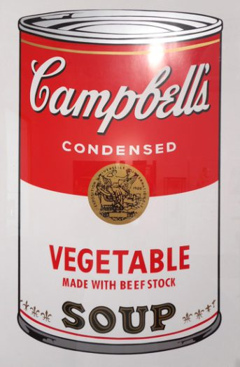 Warhol Andy, Camppbell´s Soup, Vegetable