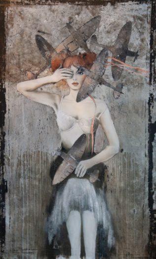 Margit Füreder, Flugzeuge in meinen Kopf II