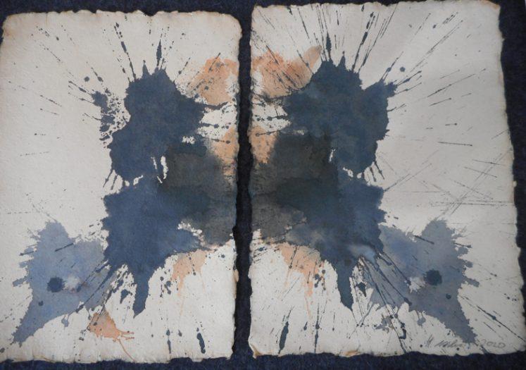Aschenbrenner Heinz, Rorschach blau
