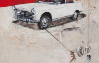 Mayer Norbert, der papa vom mandi fuhr dieses auto