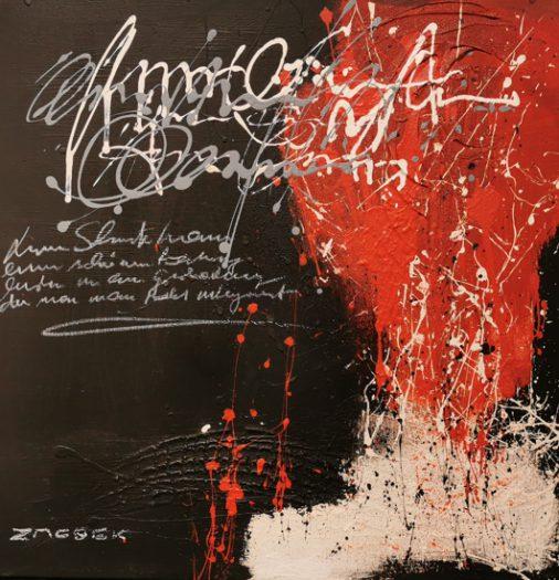 Zacsek, Anton, Die Kraft des Rot