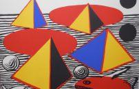 Calder Alexandert, Fisch und Pyramide